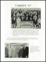 1963 Columbia High School Yearbook Page 52 & 53