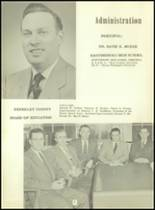 1953 Martinsburg High School Yearbook Page 10 & 11