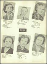 1953 Martinsburg High School Yearbook Page 14 & 15