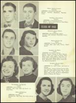 1953 Martinsburg High School Yearbook Page 20 & 21