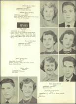 1953 Martinsburg High School Yearbook Page 28 & 29