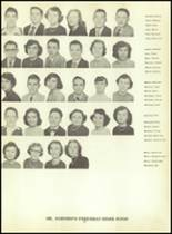1953 Martinsburg High School Yearbook Page 58 & 59