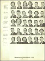 1953 Martinsburg High School Yearbook Page 62 & 63