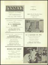 1953 Martinsburg High School Yearbook Page 104 & 105