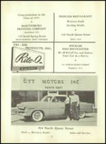 1953 Martinsburg High School Yearbook Page 110 & 111