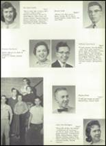 1958 Mineral Ridge High School Yearbook Page 18 & 19