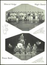 1958 Mineral Ridge High School Yearbook Page 50 & 51