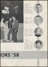1958 McAlester High School Yearbook Page 36 & 37