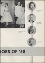 1958 McAlester High School Yearbook Page 52 & 53