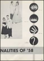 1958 McAlester High School Yearbook Page 112 & 113