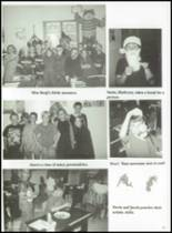 2001 Johnson Bayou High School Yearbook Page 34 & 35