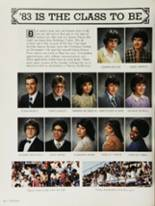 1983 Bakersfield High School Yearbook Page 38 & 39