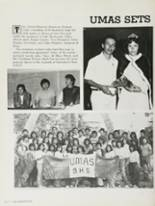 1983 Bakersfield High School Yearbook Page 166 & 167