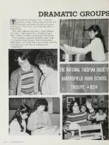 1983 Bakersfield High School Yearbook Page 180 & 181