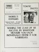 1983 Bakersfield High School Yearbook Page 240 & 241