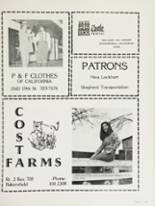 1983 Bakersfield High School Yearbook Page 250 & 251