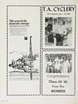 1983 Bakersfield High School Yearbook Page 258 & 259