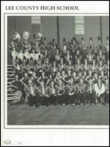 1996 Lee County High School Yearbook Page 112 & 113