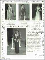 1996 Lee County High School Yearbook Page 150 & 151