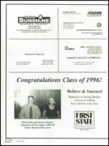 1996 Lee County High School Yearbook Page 182 & 183