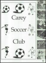 1999 Carey High School Yearbook Page 146 & 147