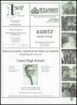 1999 Carey High School Yearbook Page 154 & 155