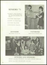 1971 Holly Ridge High School Yearbook Page 18 & 19