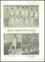 1971 Holly Ridge High School Yearbook Page 58 & 59