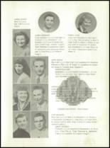 1958 Walsh High School Yearbook Page 12 & 13