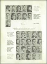 1958 Walsh High School Yearbook Page 20 & 21