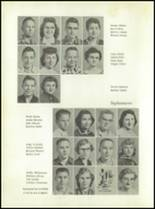 1958 Walsh High School Yearbook Page 22 & 23