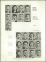 1958 Walsh High School Yearbook Page 24 & 25