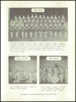 1958 Walsh High School Yearbook Page 38 & 39