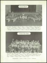 1958 Walsh High School Yearbook Page 44 & 45