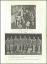 1958 Walsh High School Yearbook Page 48 & 49