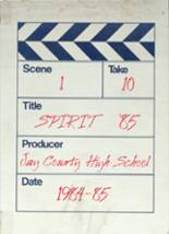 1985 Yearbook Jay County High School