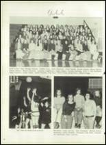 1976 Hall-Dale High School Yearbook Page 22 & 23