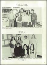 1976 Hall-Dale High School Yearbook Page 34 & 35