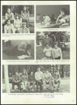 1976 Hall-Dale High School Yearbook Page 40 & 41