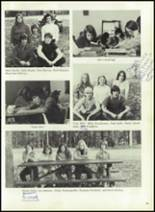1976 Hall-Dale High School Yearbook Page 42 & 43