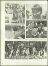 1976 Hall-Dale High School Yearbook Page 54 & 55