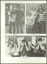 1976 Hall-Dale High School Yearbook Page 86 & 87