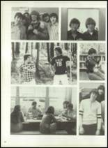 1976 Hall-Dale High School Yearbook Page 92 & 93