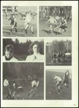 1976 Hall-Dale High School Yearbook Page 106 & 107