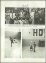 1976 Hall-Dale High School Yearbook Page 120 & 121