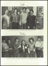 1976 Hall-Dale High School Yearbook Page 124 & 125