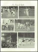 1976 Hall-Dale High School Yearbook Page 128 & 129