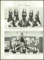 1976 Hall-Dale High School Yearbook Page 130 & 131