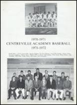 1972 Centreville High School Yearbook Page 82 & 83