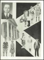 1951 Knoxville High School Yearbook Page 14 & 15